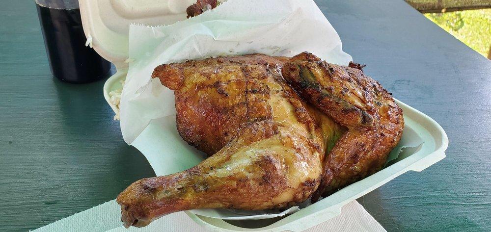 Huli Chicken: Anahola, HI