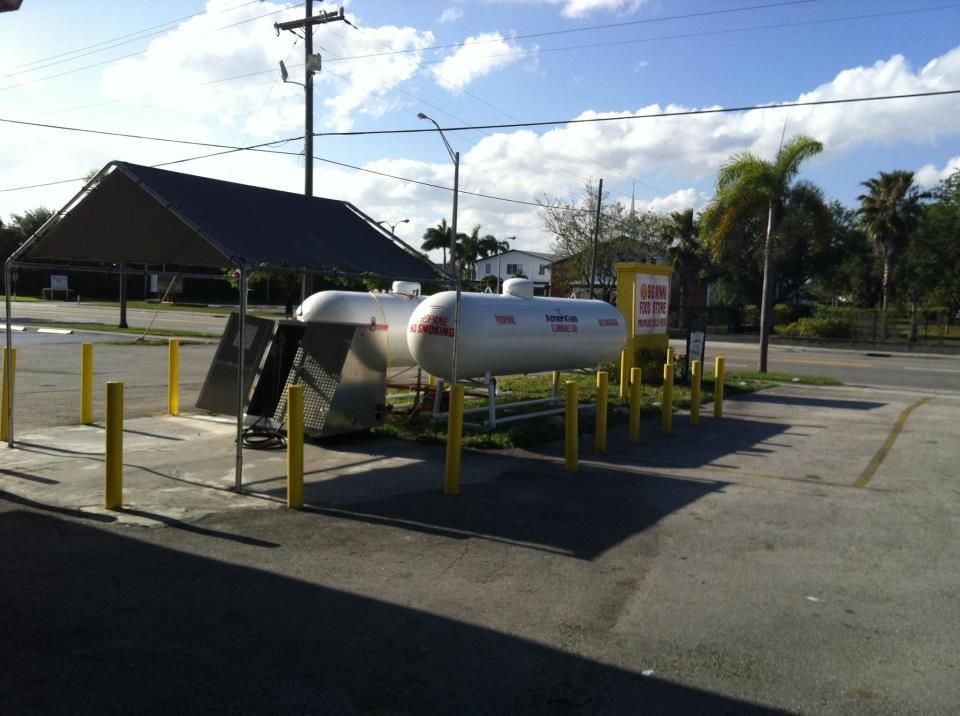 Propane Refill Station: 7214 Taft St, Hollywood, FL