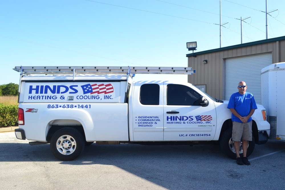 Hinds Heating & Cooling Inc: 117 Heatherwood Blvd, Lake Wales, FL