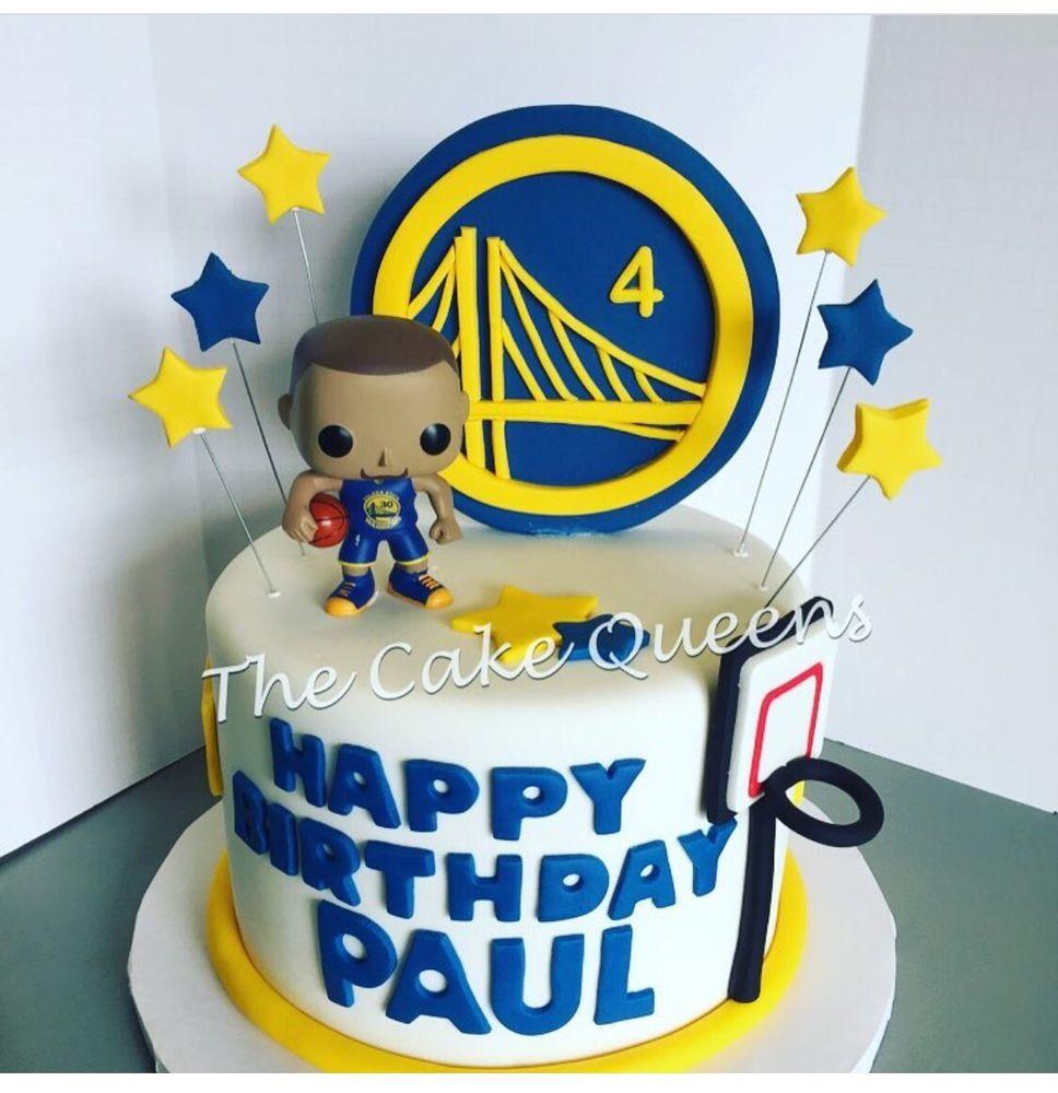 Warriors Birthday Cake - Yelp