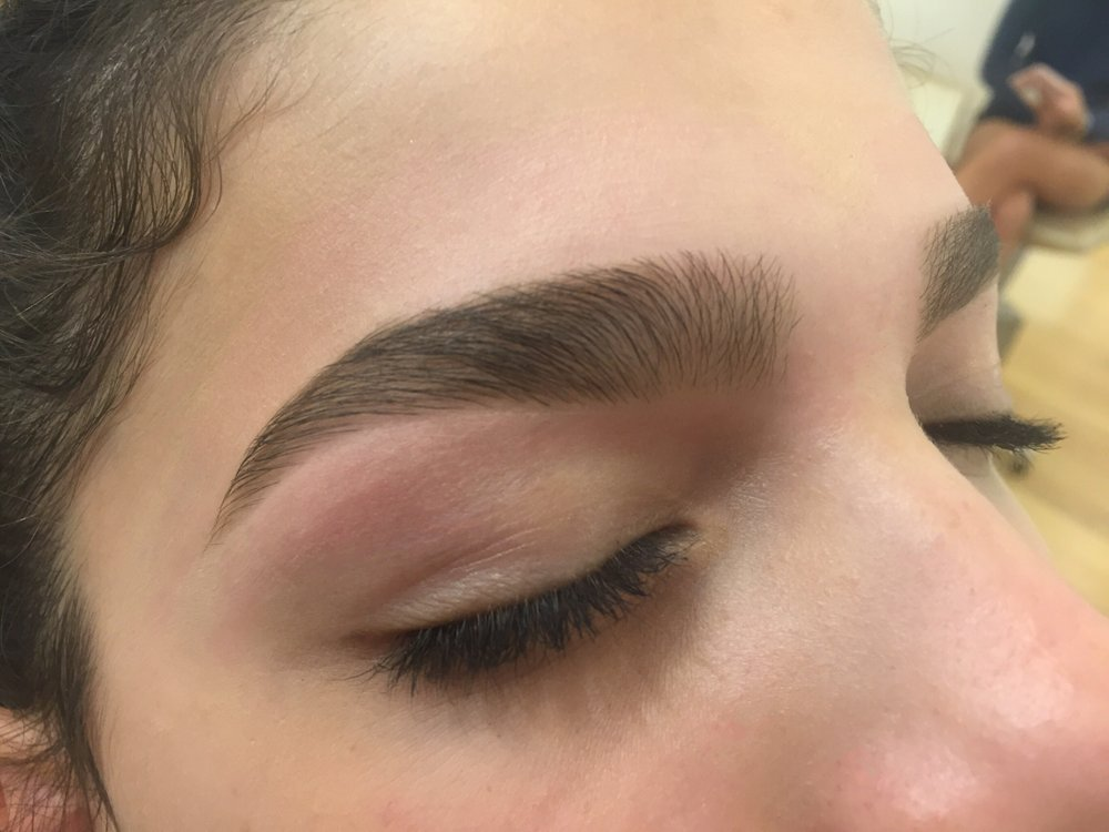 Brow Shaping Wax Trim And Tweeze Complimentary Highlight Added