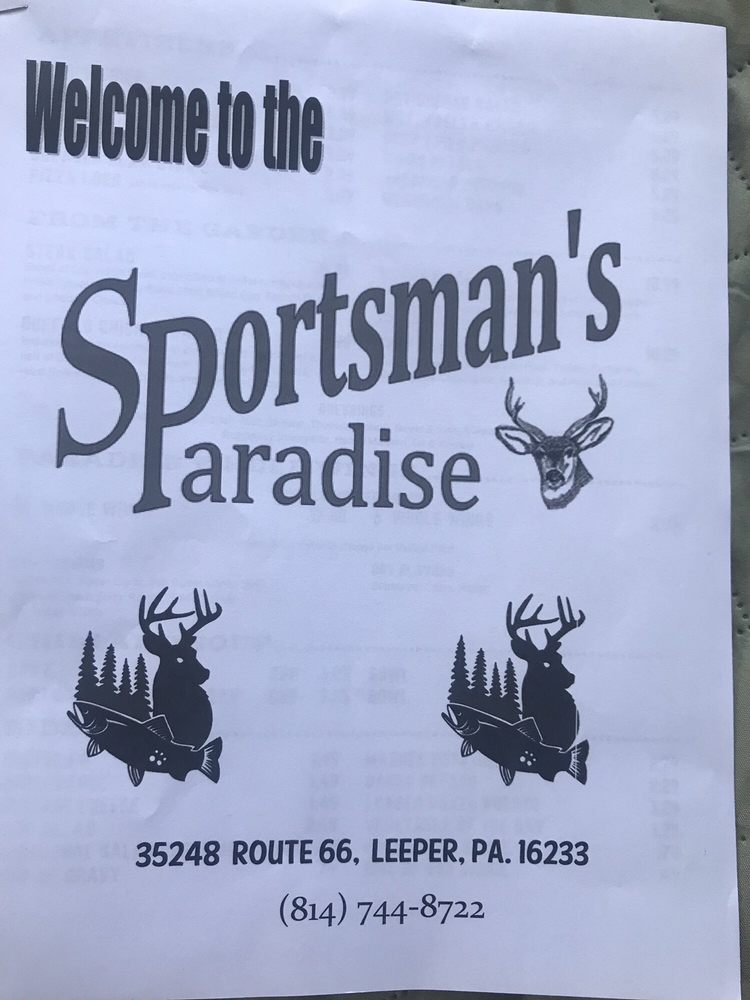 Sportsman's Paradise: 35248 Route 66, Leeper, PA