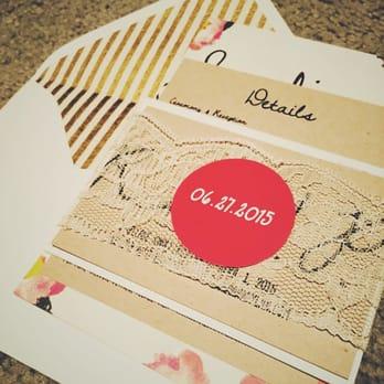 Photo of culture lite printing san francisco ca united states wedding invite
