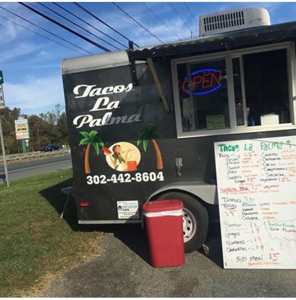 Tacos La Palma: 2724 Pulaski Hwy, Newark, DE