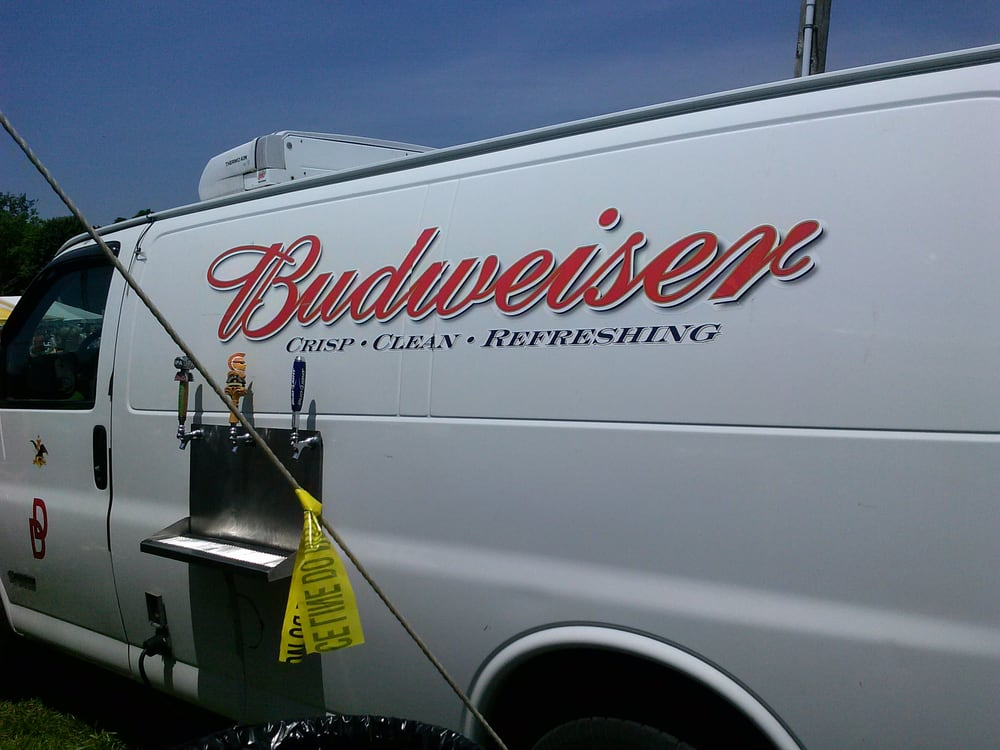 Budweiser Beer Truck With Exterior Beer Taps Yelp