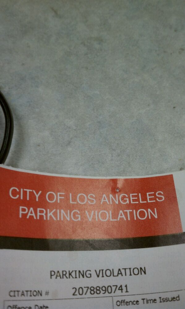 City Of Los Angeles Parking Violation >> Photos For City Of Los Angeles Parking Violations Bureau Yelp