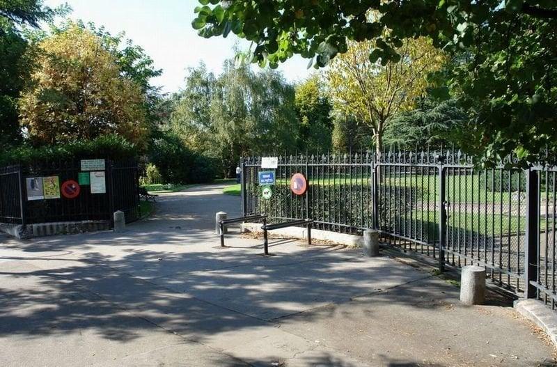 Le square des po tes jardin botanique 16 me paris for Jardin 16eme