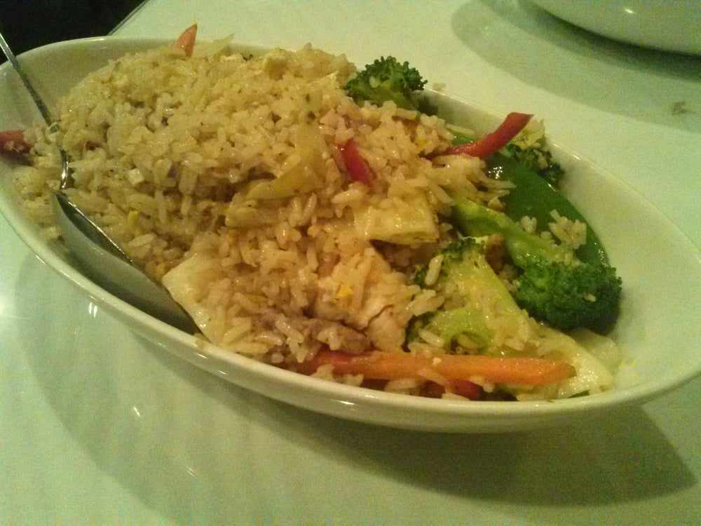 House fried rice w chicken yelp for 5 star thai cuisine