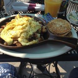 Photo Of Scuttles Restaurant Lake Geneva Wi United States Three Meat Skillet