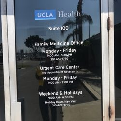 UCLA Health Marina Del Rey Urgent Care & Primary Care - 4560