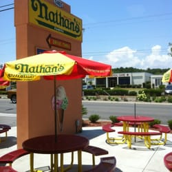 Nathan S Hot Dogs Myrtle Beach