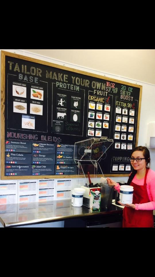 Photo of Tailor Made Nutrition - Woodbury, MN, United States. Our smoothie bar