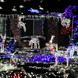 photo of the olsen christmas light display san jose ca united states