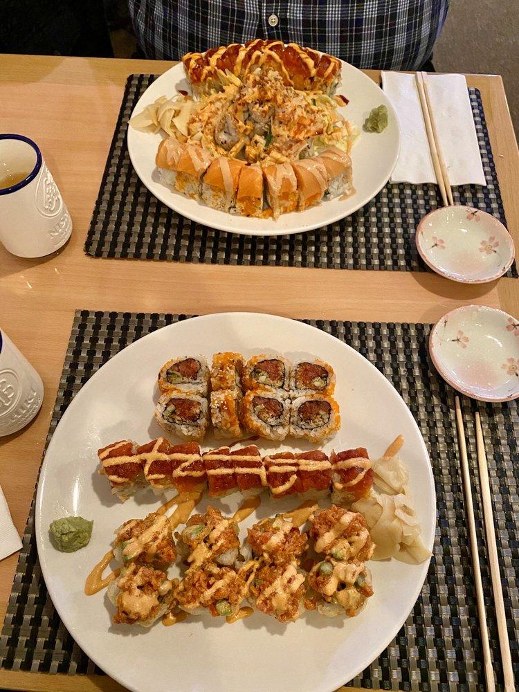 Food from Sakura Japanese Sushi Restaurant