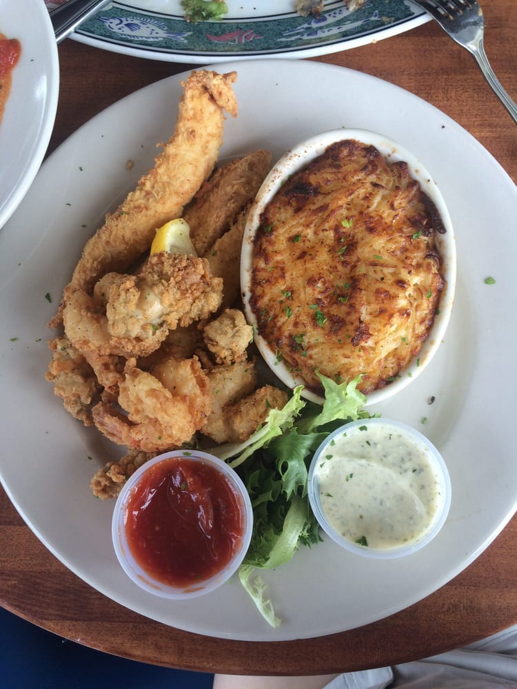 Seafood combo on lunch menu yelp for Big fish grill menu