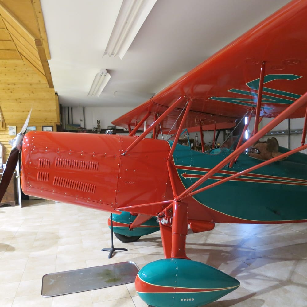 North Cascades Vintage Aircraft Museum: 7879 South Superior Ave, Concrete, WA