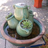Photo Of Garden Accents   Gilroy, CA, United States. Beautiful Succulent  Fountain Design