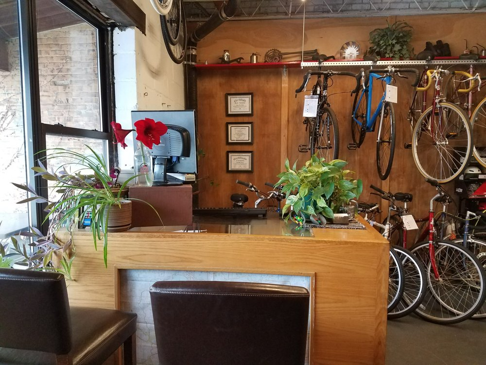 Cherry Cycles: 1621 Hennepin Ave, Minneapolis, MN