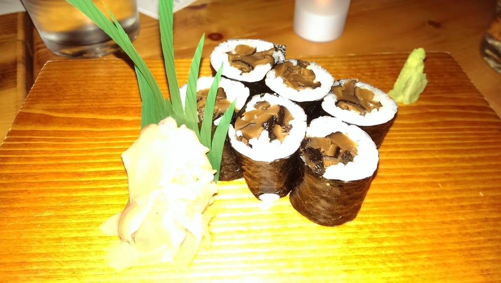 Shitake mushroom roll yelp for Tsukiji fish market chicago