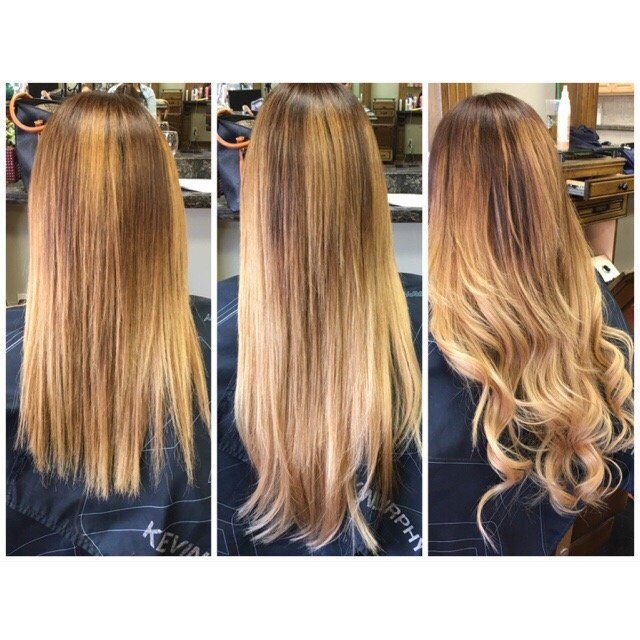 Hot Heads Hair Extensions By Michaela Caputo Before After
