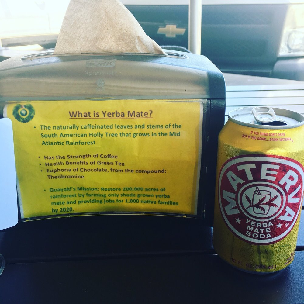 I found a restaurant that cares as much I do about Yerba
