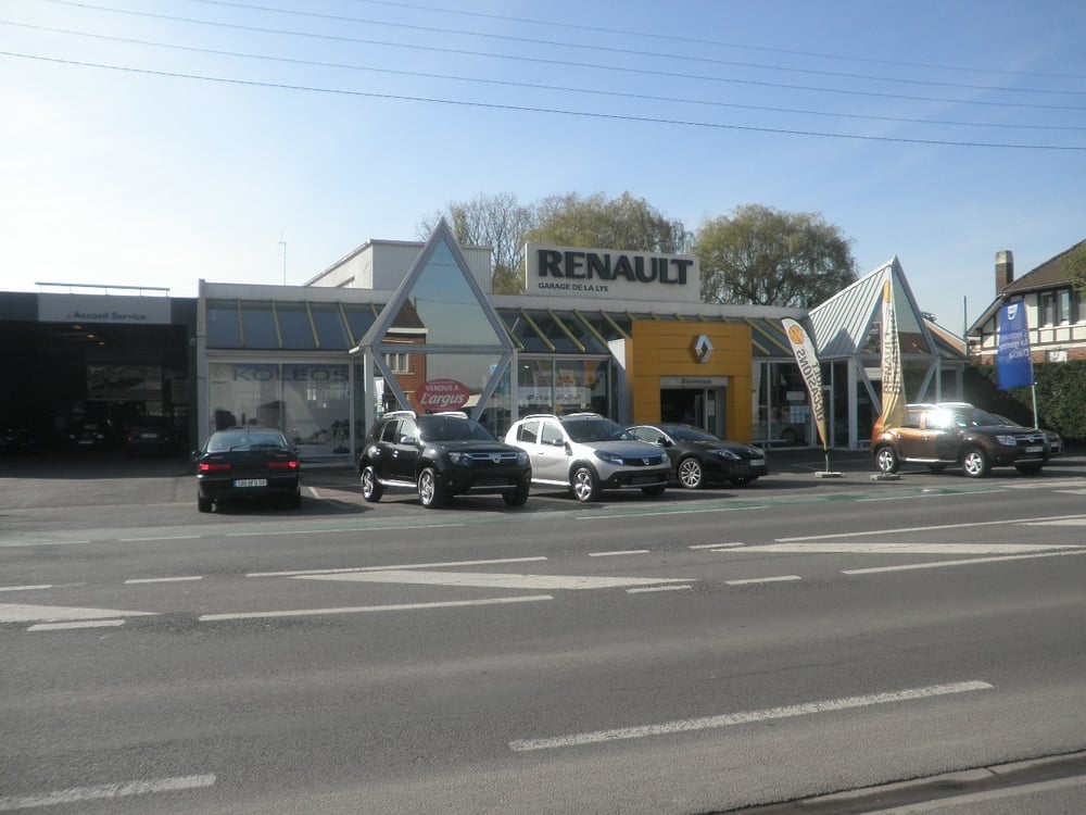 concession renault garage de la lys car dealers 223. Black Bedroom Furniture Sets. Home Design Ideas