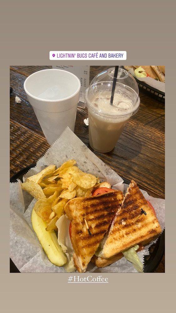Lightnin' Bugs Cafe & Bakery: 50 Broad St, Warm Springs, GA
