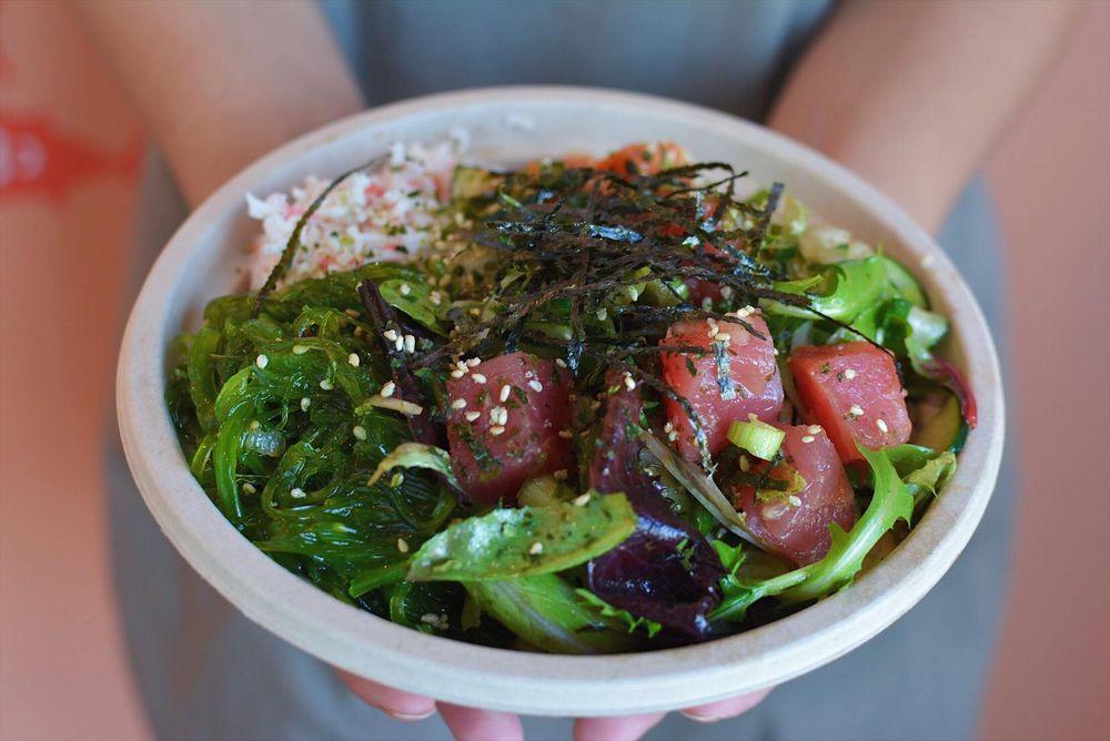 Food from Poke House - Santa Cruz