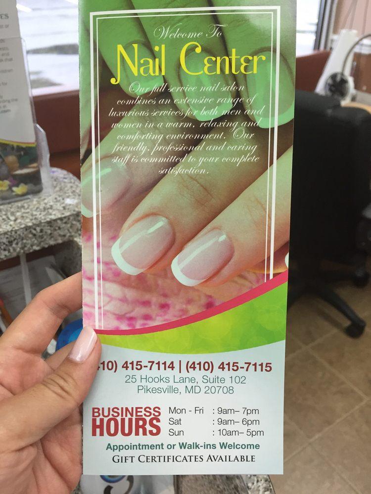 Nail Center - 13 Reviews - Nail Salons - 25 Hooks Ln, Pikesville, MD ...