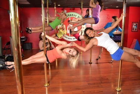 pole dancing party Amateur