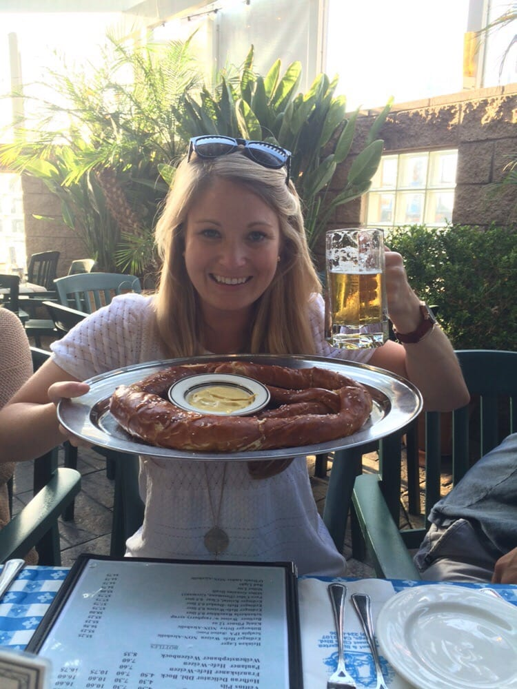 Beer and giant pretzels yelp for American cuisine san diego