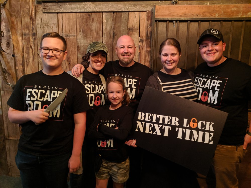 Berlin Escape Room: 4818 E Main St, Berlin, OH