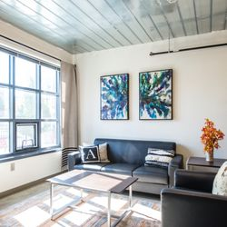 Photo Of The Aail Columbus Oh United States Modern Loft Style Apartment