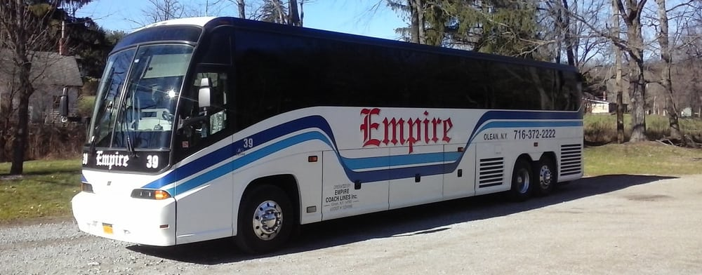 Empire Coach Lines: 117 S 4th St, Olean, NY
