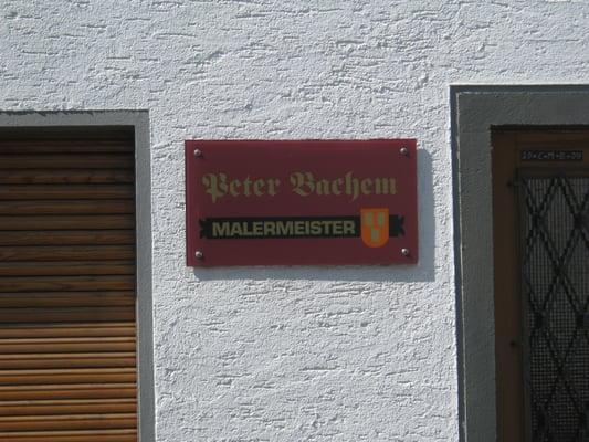 Malermeister Köln bachem malermeister maler keimergasse 5 zündorf köln