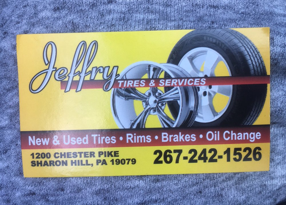 Jeffry Tires: 1200 Chester Pike, Sharon Hill, PA