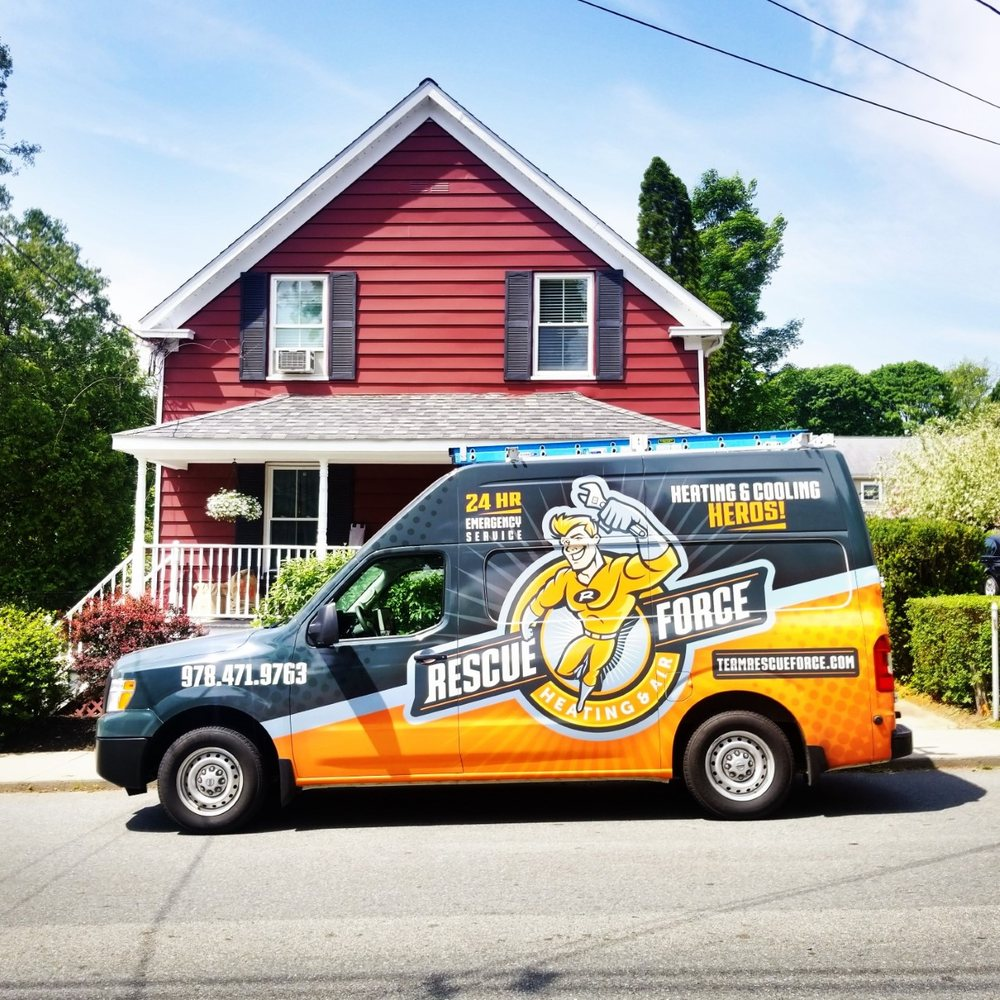 Rescue Force Heating and Air: 21 Water St, Amesbury, MA
