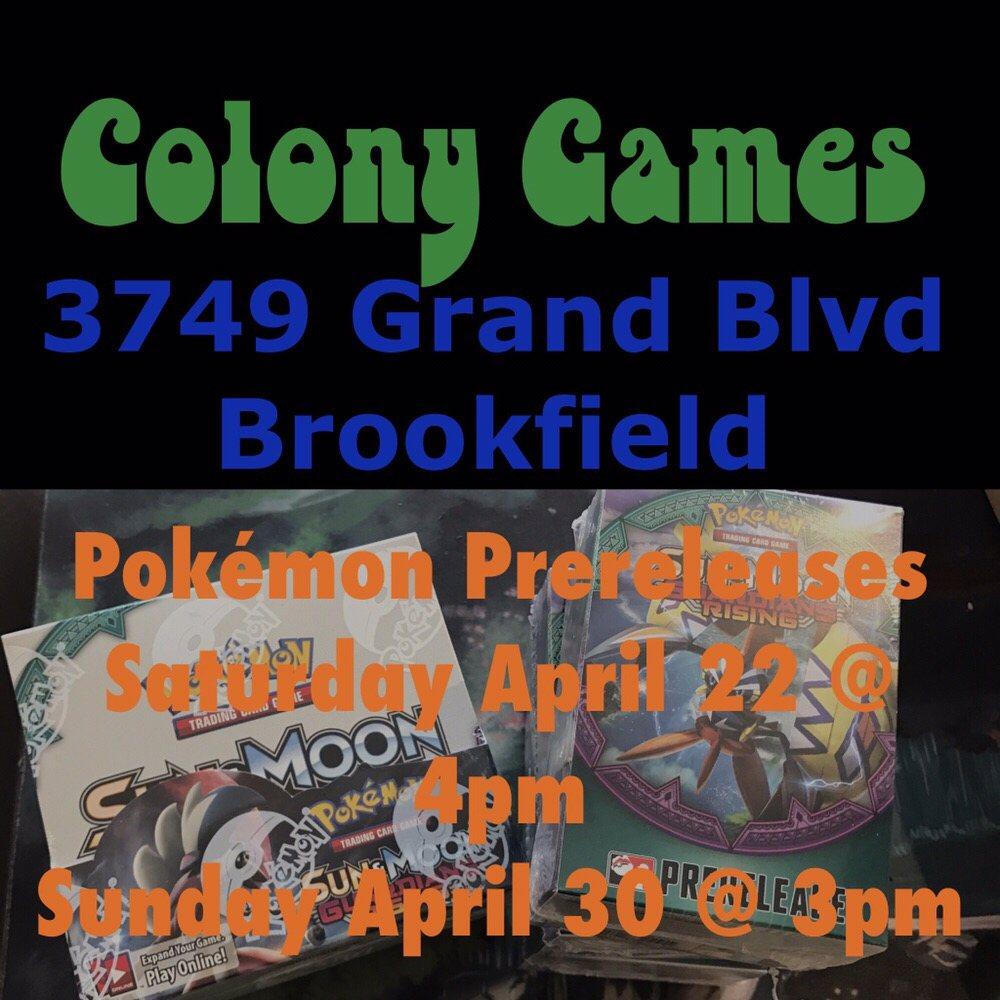 Colony Games: 9152 Broadway, Brookfield, IL