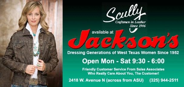 Jackson's Ladies Fashions & Bridal Shop: 2418 W Ave N, San Angelo, TX