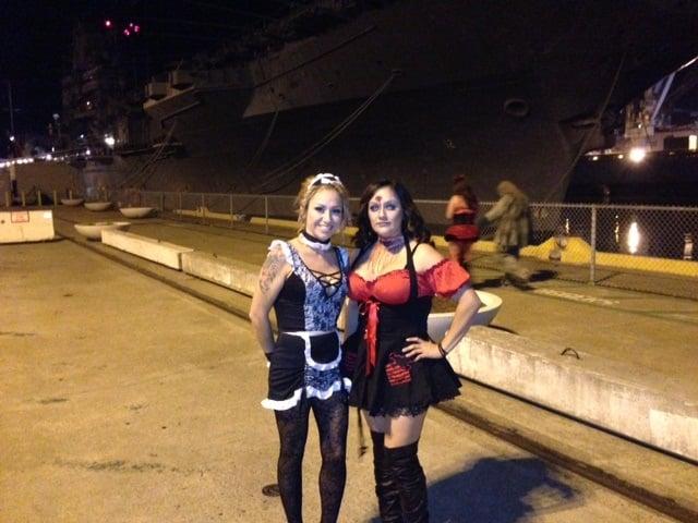 Uss Hornet Halloween