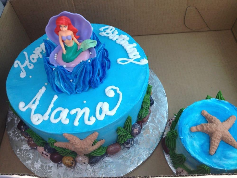 The Little Mermaid Birthday Cake Yelp
