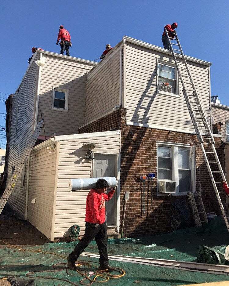 Flat Roof Amp Vinyl Installation In Glendale Queens Ny