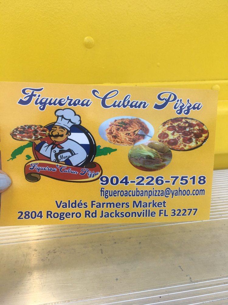 figueroa cuban pizza: 2804 Rogero Rd, Jacksonville, FL