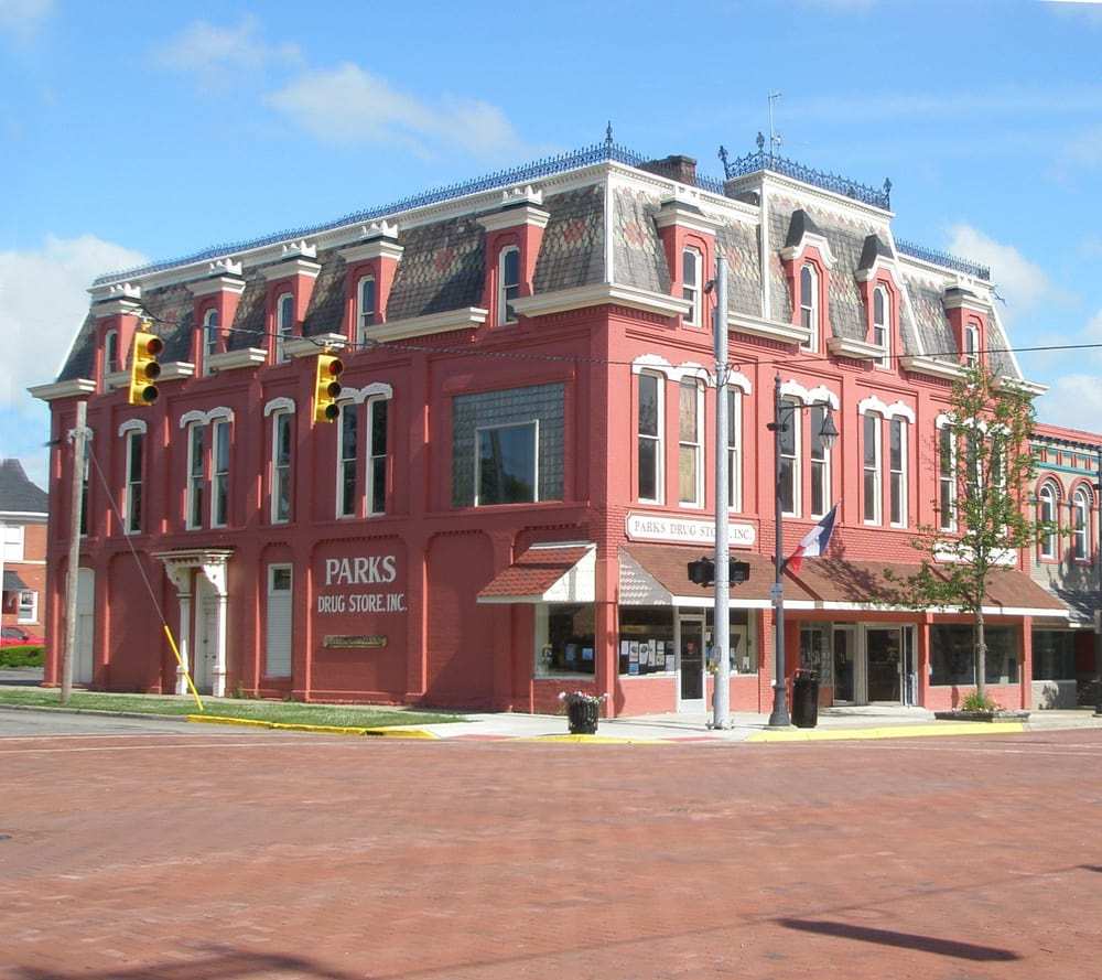 Parks Drug Store: 318 S Superior St, Albion, MI