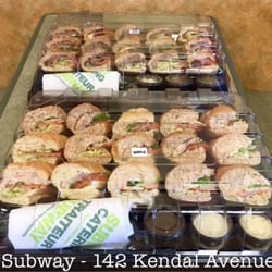 Subway Catering Prices Subway is the most popular sub sandwich fast food chain out there, and the best part is they also offer catering services. Subway catering prices are very affordable for your next party, holiday, picnic, sporting event, or business function.
