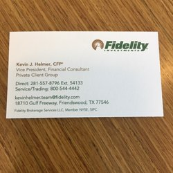 Fidelity Investments - Investing - 18710 Gulf Fwy, Clear Lake