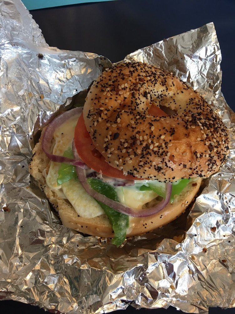 Food from JT'S Bagel Bar