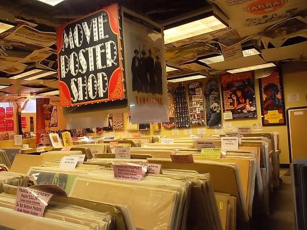The Movie Poster Shop CLOSED 22 Photos DIY Home Decor 112 16 Av