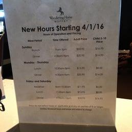 photos for wandering horse buffet menu yelp rh yelp com Talking Stick Seafood Buffet wandering horse buffet price