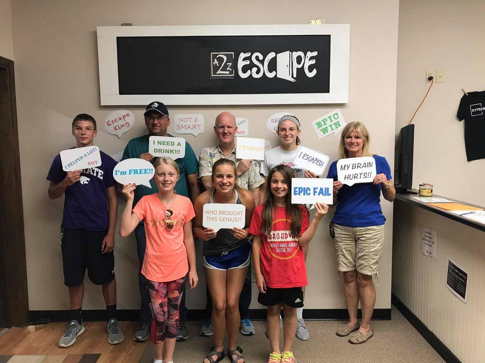 A2Z Escape: 115 W 8th St, Hays, KS